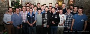 Juniors receive 2014 league winners medals