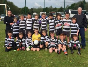Kilcullen U12's who travelled to Newry last weekend