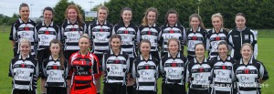 Kilcullen Ladies that took on Moorefield