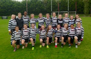 Victorious U13 girls semi final V Naas