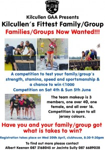 Kilcullens Fittest Family or Group
